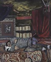 Birte-Moelgaard----Akrylmaleri-2017-----120x100------UDEN-TITEL